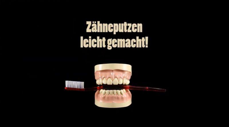 Titel Zähneputzen leicht gemacht